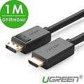 綠聯 DP轉HDMI線/DisplayPort轉HDMI線 1M
