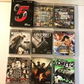 PS3二手遊戲片、GTA5、GT5跑車浪漫、俠盜獵車手自由城、看門狗、決勝時刻、航海王、秘密警察、惡靈古堡5、越野 中文