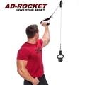 【AD-ROCKET】滑輪懸吊阻力訓練器/全身核心肌群懸吊訓練器/trx/訓練繩/CrossCore 180