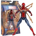 "Marvel Infinity War Avengers Iron Spider Spiderman w/ Tentacles 7"" Action Figure"