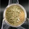 波蘭2000年基督千禧年2茲羅提流通紀念幣