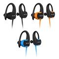 【SOYES】運動防水耳掛式MP3播放內建8G藍牙耳機BT7(附收納硬殼)藍色
