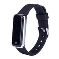 CB601 Blood Pressure Heart Rate Monitor Fitness Tracker Smart Bracelet Wristband For IOS Android Sil