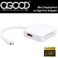【A-GOOD】Mini DisplayPort HDMI母+DVI母+DP母 轉換線