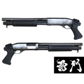 [雷門]全鋼製 M870雷明頓 操作槍 非道具槍(實心操作槍管)