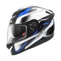 ZEUS 1600 ZS-1600 ZS 1600 <透明碳纖維> AK4 藍 全罩安全帽 附贈茶色鏡片
