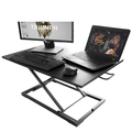 Alighttone MD02 Modern Simple Adjustable Height Desk Sit Stand Dual-use Desk Foldable Office Desk Riser Notebook Laptop Stand Notebook Monitor Holder