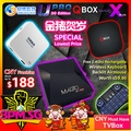 UBox6 UPro2 Magic X Pro Magic X Plus QBox TVBox No Subscription Free LiveTV + VOD TVB EPL Movies