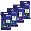 Genuine Brother LC3029 (LC-3029) (BK/C/M/Y) Super High Yield Color Ink 4-Pack (Includes 1 each LC3029BK, LC3029C, LC3029M, LC3029Y)