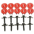 20x Engine Undertray Cover Clips Screws Bottom Shield Guard For Ford Focus C-Max