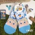 [正版] 迪士尼 TSUM TSUM 疊疊樂 冰雪奇緣 雪寶 艾莎 短襪 造型襪 襪子 直版襪 COCOS JI039