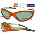 兒童太陽眼鏡 小朋友太陽眼鏡 超炫圖案設計鏡腳+止滑橡膠腳套_防風太陽眼鏡_UV-400 鏡片_台灣製(5色)_K-73