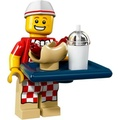 LEGO 71018 6 號 第17代 人偶包 熱狗小販
