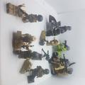 二手 二戰樂高 共人物×16 載具×4 砲塔×2 全部一組
