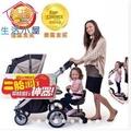 二胎推車踏板拖車二胎神器推車配件嬰兒推車輔助腳踏板溜娃神器