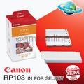 CANON RP108 IN FOR SELPHY กระดาษพิมพ์พร้อมหมึกสำหรับ SELPHY PHOTO PRINTER (CP 820/CP 910 เท่านั้น) ขนาด 4x6 นิ้ว จำนวน 108 แผ่น