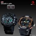 ฟรีกล่องเซ็ต! นาฬิกาคู่ แฟชั่น สปอร์ต เท่ EXPONI EP0622GBL SPORT CHRONOMETER WATCH