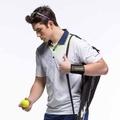 《Slazenger》高彈力抗紫外線吸濕排汗網球短衫/526028
