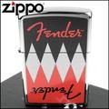 【ZIPPO】美系~Fender-電吉他Logo圖案彩印打火機