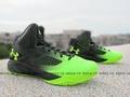 [28cm]《下殺7折》Shoestw【1258143-005】UNDER ARMOUR UA 籃球鞋 黑螢光綠 CURRY 8月新款