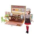 ◎熊寶貝玩具◎日本TAKARA TOMY-LICCA 莉卡娃娃~莉卡甜甜圈店禮盒組 (附莉卡娃娃)