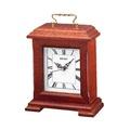 SEIKO  นาฬิกาไม้ นาฬิกาตั้งโต๊ะ สีน้ำตาล