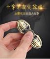 十字軍凱薩系列  復古銅色 指尖陀螺 手指陀螺 緩解焦慮玩具 (3折)