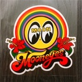 現貨 日本帶回 Mooneyes moon Rainbow decal 扶桑花貼紙