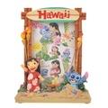 (預購)玩瞎拚#日本空運代購 東京迪士尼商店 Stitch Day史迪奇與夏日海灘立體雕刻彩繪相框