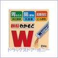 Wakamoto Wakamoto 24 capsule 【Wakamoto Pharmaceutical】 【Quasi-drug】 【4987243114502】 【Delivery time: about 10 days】