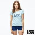 Lee 牛仔短褲 超低腰反摺牛仔短褲-女款-深藍