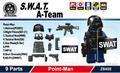 SWAT瓦特阿爾法組關鍵人物裝備安排1特別定做Lego LEGO海外限定 World antique