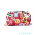 ♥小蘋果雜貨♥現貨 Lesportsac x Nintendo 6511 紅色 化妝包 收納包 降落傘防水