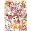 【進口拼圖】迪士尼拼圖 美女與野獸 迷人的貝兒 500片 D-500-476