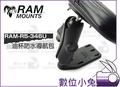 數位小兔【RAM Mounts RAM-R5-346U 油杯防水導航包】重機 支架 龍頭 固定架 手機架 摩托車 單車