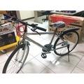 TFB 帥氣銀色26吋變速腳踏車