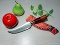 6吋木柄小番刀 原住民刀 番仔刀 登山刀 露營 西瓜刀 菜刀 開山刀 銅門刀