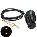 24V 4 Wires Buggy Go Kart Electric Scooter Thumb Throttle With LED Light E200 E300