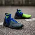 Nike Air Zoom Mercurial XI Flyknit 黑藍黃吕布 844626-401