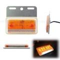 【晶典光電】24V新款薄型 LED側燈+照地燈 方向燈/警示燈 堅達 貨車 砂石車 拖車 聯結車 貨車 勁旺 尾燈