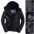 S~3XL 黑迷彩 極度乾燥 Superdry Arctic Windcheater 風衣 外套 防風 刷毛保暖 內口袋