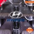 QJ พรมปูพื้นรถยนต์เข้ารูป5D ยี่ห้อรถHyundai รุ่นH1 11ที่นั่ง ปี2008-2018