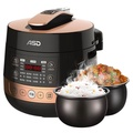 ASD AP-F50E107 electric pressure cooker One pot double bile spherical design Pick up and taste one key exhaust 24 hours smart appointment 5L large capacity pressure cooker