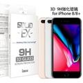 imos 3D滿版 康寧玻璃保護貼 for iPhone 8 Plus 5.5吋