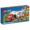 LEGO 樂高 CITY 城市系列 - LT60182 皮卡車及露營車