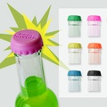 【YKS】超呼嚕彩色矽膠玻璃瓶蓋(LS0004) 6入1組/隨機出色