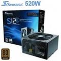 海韻 S12II 520W (520W/80+銅/單路12V 40A) 五年免費保固,九十天換新