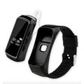 可拆式 藍芽通話手環【NCC認證】商業手錶 商務手環 防潑水 手環 藍牙耳機【H97】