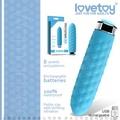 ∮VIVI 情趣用品 Lovetoy Womanizer 8段變頻靜音迷你時尚按摩棒 BLUE