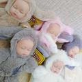惠萌娃娃仿真嬰兒毛絨玩具音樂萌睡玩偶軟膠安撫陪睡公仔大號